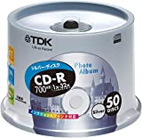 50 pieces of TDK CD-R 32x data corresponding silver printable pot case pack of [CD-R80ESX50PS]