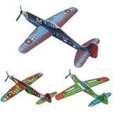 Arich 4Pcs Kids DIY Mini Foam Handmade Flying Airplanes Glider Educational Toys Model