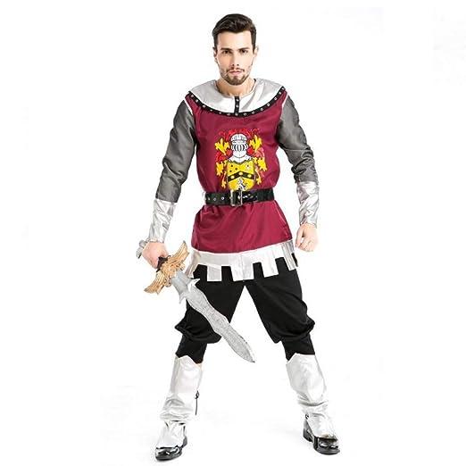YyiHan Cosplay Disfraz, Traje de Caballero Traje Gladiador ...