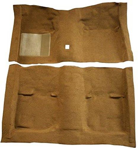 laxie Carpet Custom Molded Replacement Kit, 2 Door Hardtop 4 Speed with Foot Wells (538-Light Green 80/20 Loop) (Ford Galaxie Carpet 2 Door)