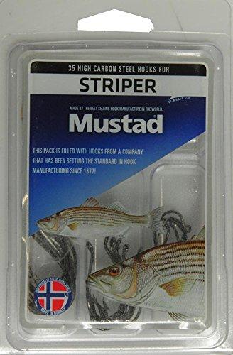 Mustad Striper 釣り用ターミナルタックル 35個パック マルチカラー   B079CPZY51