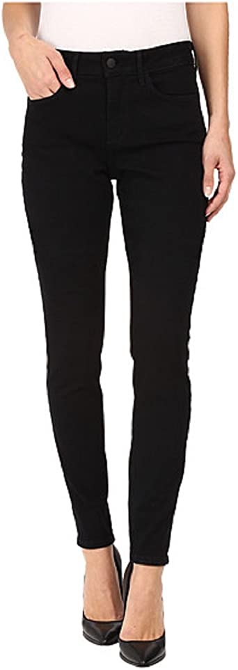 Size 6P NYDJ Ladies Original Slimming Fit Jeans Black