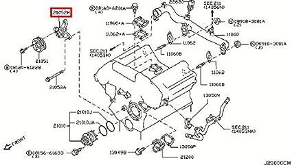 g35 water pump location
