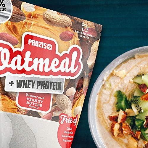 Prozis Oatmeal y Proteína de leche, Palomitas caramelizadas - 400 gr