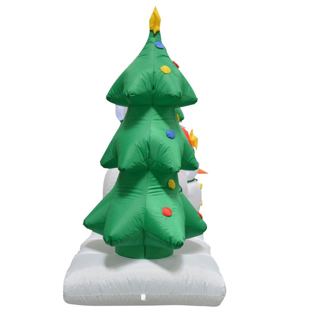 Amazon.com : Impact Canopy 513001002-VC Snowman Family Inflatable ...
