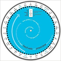 Easy to Use French Verb Wheel for GCSE: Present Tense: Amazon.co.uk ...