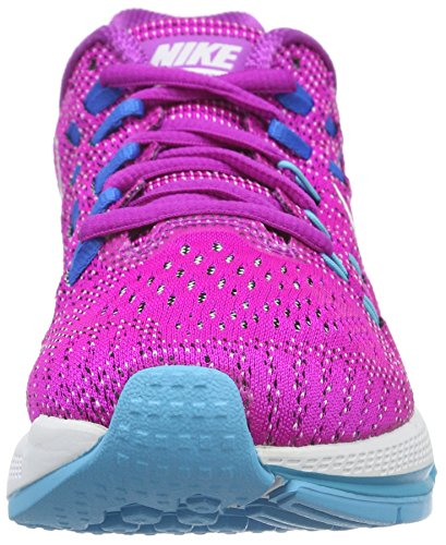 NIKE Womens Air Zoom Structure 19 Running Shoes Hyper Violet/White-Gamma Blue-Photo Blue F3wgkDVH28