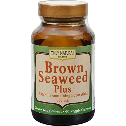 Natural Seaweed Brown (ONLY NATURAL BROWN SEAWEED PLUS 700MG, 60 VCAP, EA-1 by Only Natural)