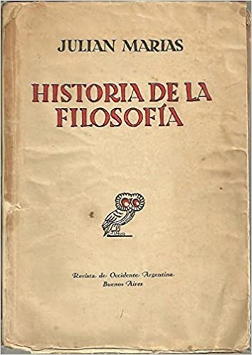 HISTORIA DE LA FILOSOFIA.: Amazon.es: MARIAS, Julián.: Libros