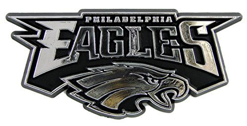 Nfl Philadelphia Eagles Chrome Automobile Emblem
