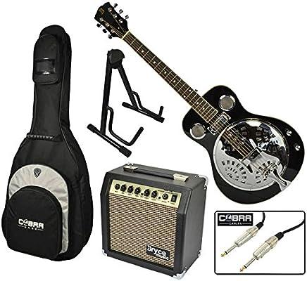 Caja de resonancia guitarra electroacústica con Set de accesorios y ...