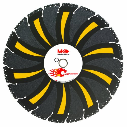 (MK Diamond 164584 14-Inch Fire Tiger Tooth Diamond Demolition/Fire Rescue Blade)
