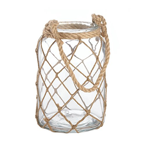 Home Decor Large Fisherman Net Candle Lantern -