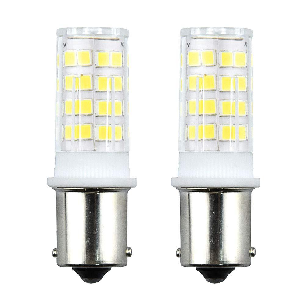 Bonlux 3.5W 12V P21W 1156 BA15S LED Bombilla con 350 Lumen 51 SMD 2835 para Iluminación Interior de Vehículos, Remolque, Barco (2-Unidades, ...