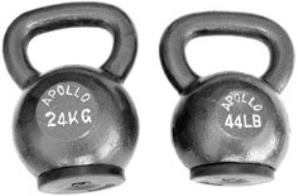 Apollo Athletics Kettlebell with Bottom Rubber Band