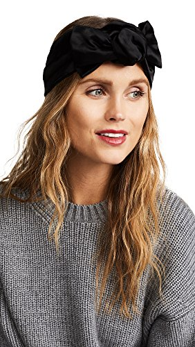 Jennifer Behr Women's Rosie Knot Head Wrap, Black, One Size by Jennifer Behr