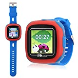 PHRtoy Smart Game Watch Kids,[Camera][Alarm Clock][Pedometer] [Games] Smart Watch - Nice Gift Kids, Girls Boys (blue)