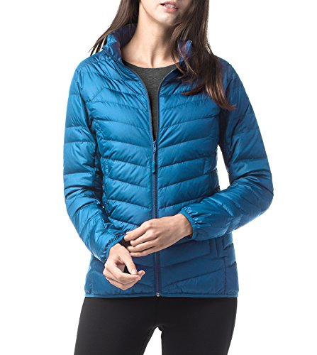 LAPASA Women's Down Jacket - Warmth Without Weight - Duck Down-Filled Lightweight Packable Winter Outerwear L18