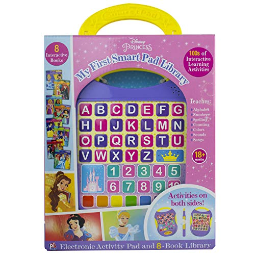 - Disney Princess - My First Smart Pad Electronic Activity Pad and 8-Book Library - PI Kids