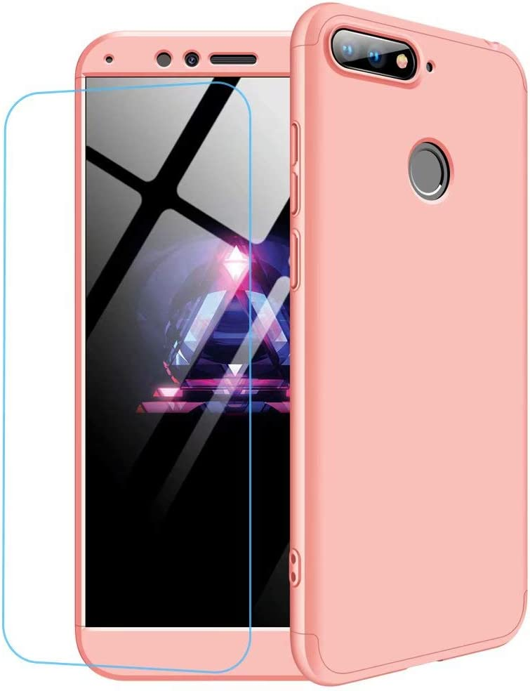Funda Huawei Honor 9 Lite + Vidrio Templado Lanpangzi 360°Caja Caso 3 in 1 Carcasa Todo Incluido Anti-Scratch Case Cover Protectora de teléfono para Huawei Honor 9 Lite: Amazon.es: Electrónica