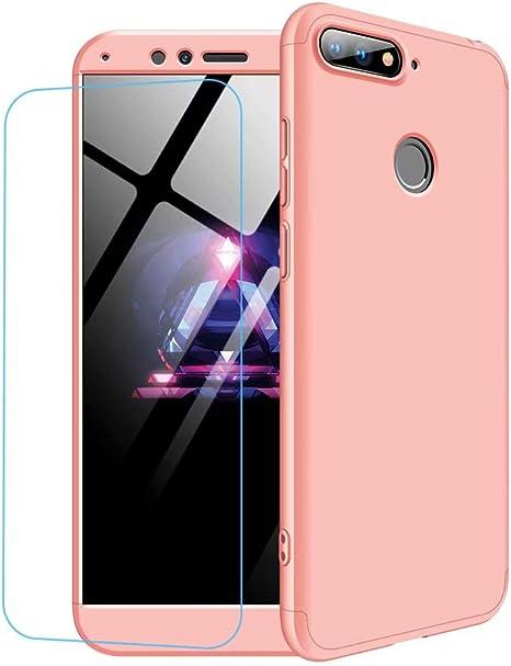 Funda Huawei Honor 9 Lite + Vidrio Templado Lanpangzi 360°Caja ...