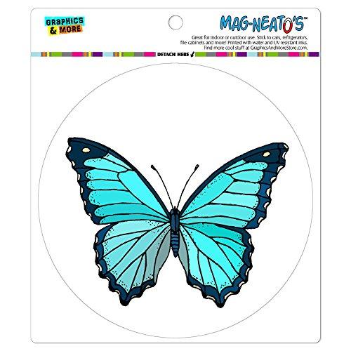 Butterfly MAG-NEATO'S(TM) Automotive Car Refrigerator Locker Vinyl Magnet
