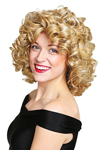 Fun Costumes Women's Grease Synthetic Hair Bad Sandy Wig Standard Yellow - Sandy Bad