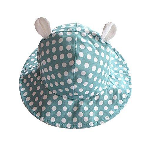 Demarkt Sombrero Infantil con Ala Algodón Gorra Protección de Sol para Bebés  Niños Niñas(Azul 06d29af6ba28