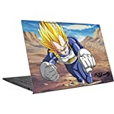 Skinit Dragon Ball Z Envy 17t (2018) Skin - Vegeta Power Punch Design - Ultra Thin, Lightweight Vinyl Decal Protection