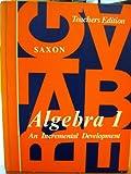 Algebra I, John H. Saxon, 0939798026