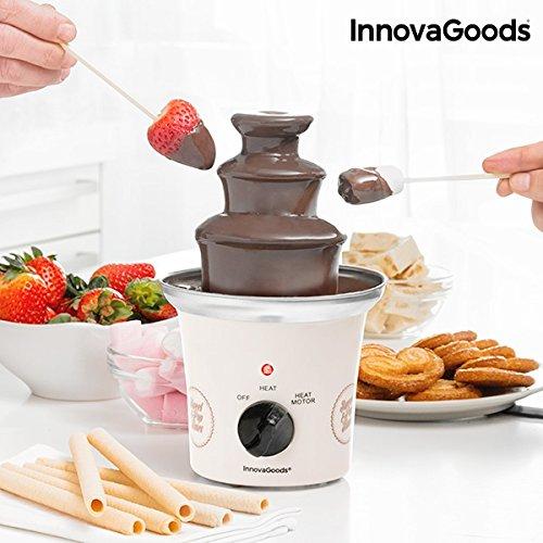 innovagoods Fontana di cioccolato, Bianco IGS Sweet & Pop Times