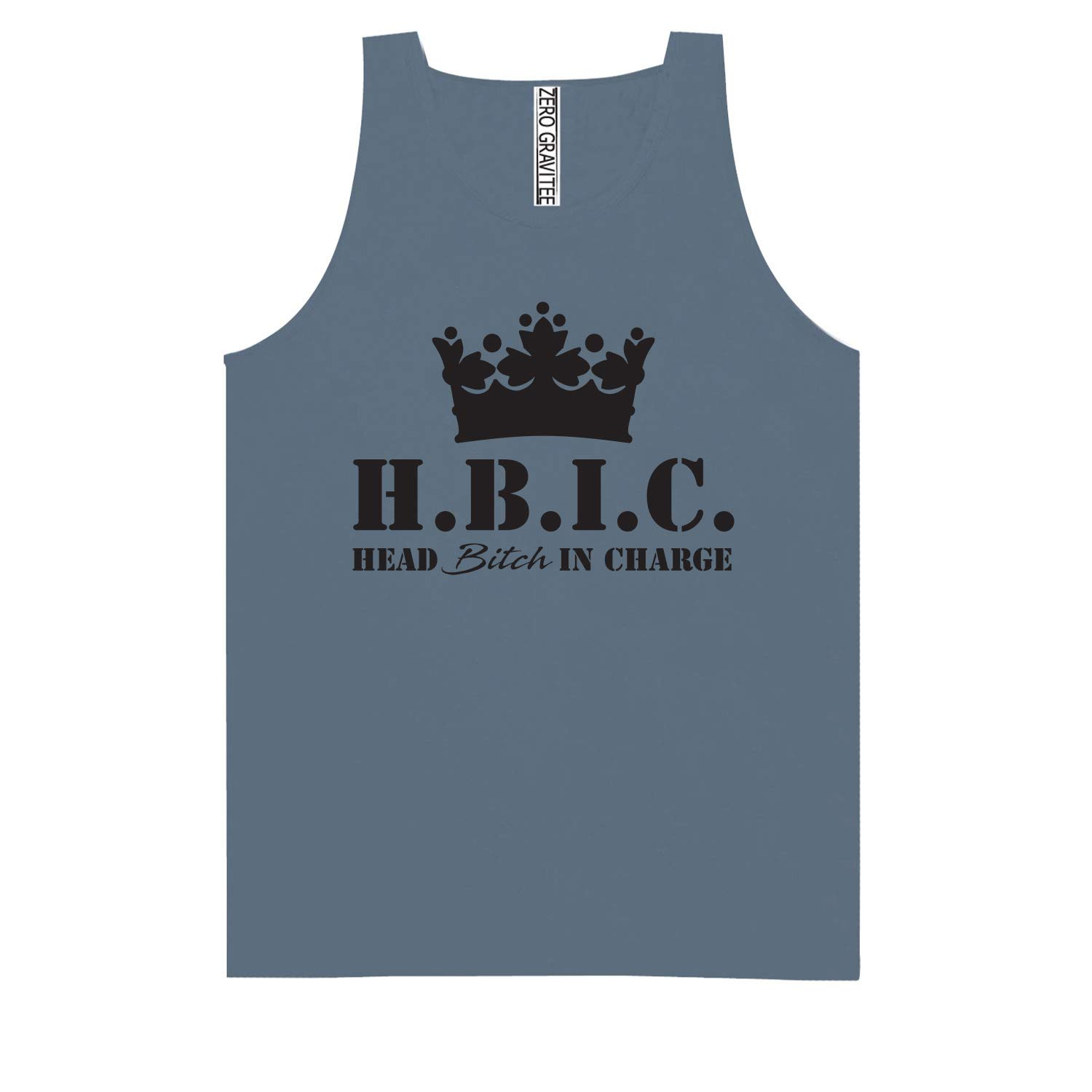 H.B.I.C Head Bitch in Charge Adult Pigment Dye Tank Top