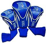 NCAA Duke Blue Devils 3 Pack Contour Golf Club Headcover