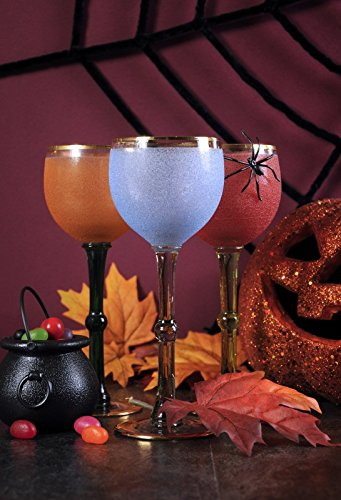 Laeacco 5x7ft Photography Backdrop Happy Halloween Ghoulish Party Cocktail Drinks Vinyl Photo Fun Skittish Autumn Holiday Party Orange Pumpkin Ceremony Decoration Photo Backdrops Studio Props -