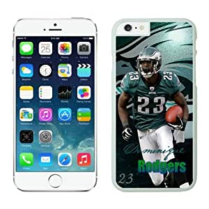 Philadelphia Eagles Dominique Rodgers Cromartie Case Cover For Apple Iphone 6 4.7 Inch NFL Cases White NIC14358