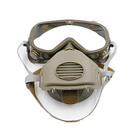 Cradifisho XQ - Máscara antiviento antiviento para protección de los ojos, antipolvo, antiempañante,