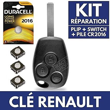 Caja para mando a distancia coche Jongo - Carcasa llave ...