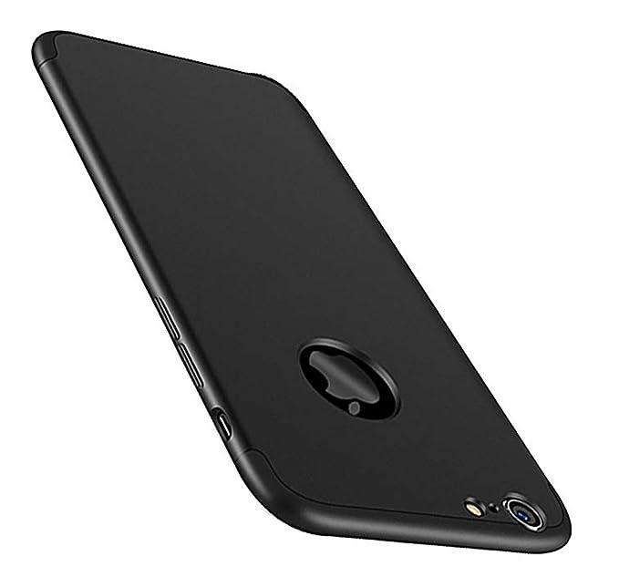 ef4e3a8218e Vanki Funda iPhone 7, 360 Grados Caso Carcasa Cubierta de lujo 3in1 híbrido  la cubierta