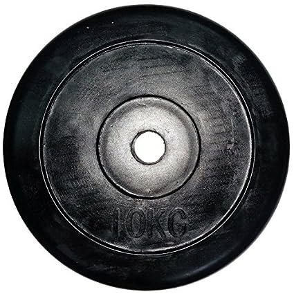 LiveUP Sports - Disco Peso 10Kg 1pz Agujero 28mm Goma Natural ...