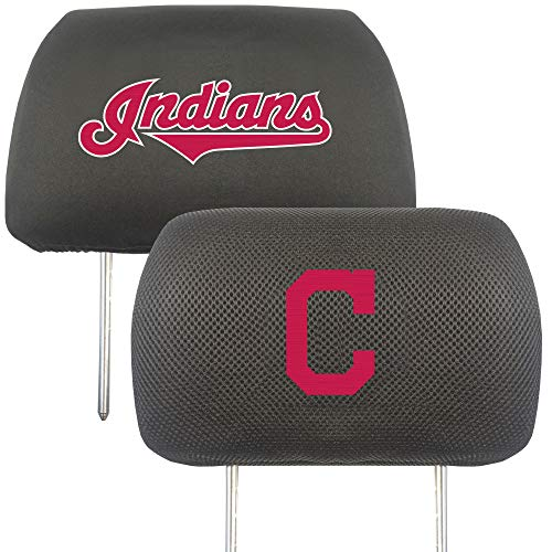 - FANMATS MLB - Cleveland Indians Head Rest Cover