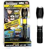 Bell + Howell TACLIGHT PRO Lantern+Flashlight in-1 with Zoom, Magnetic Base As Seen On TV - 40x Brighter