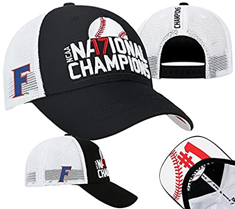 Florida Gators Baseball National Champions Hat - Black - Florida Gators Baseball Cap
