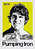 """Wall Calendar 2019 [12 pages 8""""x11""""] Arnold Schwarzenegger Vintage Movie Poster"""