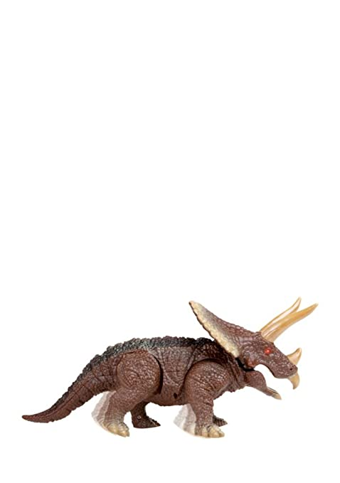 Toys & Hobbies Animals & Dinosaurs Kids Walking Dinosaur Triceratops 14.5 Inches Remote Control With Shaking Head