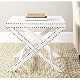 Safavieh Home Collection Jeanine White Croc X End Table Review