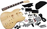 Solo SG Style DIY Guitar Kit, Basswood Body, Maple Neck, Rosewood FB, SGK-1