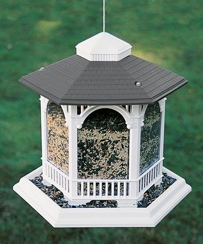 Heritage Farms Deluxe Gazebo Bird Feeder (Gazebo Feeder)