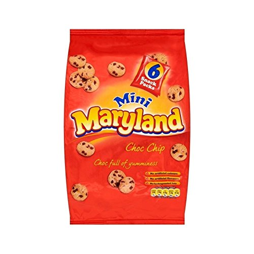 Maryland Mini Choc Chip Cookies (6x25g)