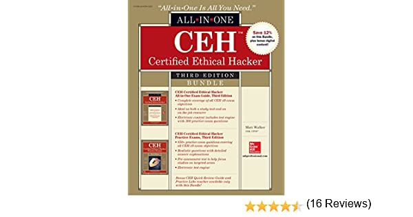 Amazon ceh certified ethical hacker bundle third edition amazon ceh certified ethical hacker bundle third edition all in one ebook matt walker kindle store fandeluxe Images