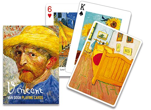 Piatnik Van Gogh Playing Cards - Single Deck Set